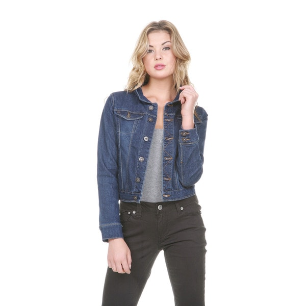 Stanzino Women's Long Sleeve Denim Jacket