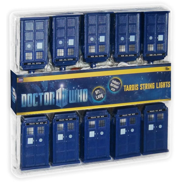 Doctor Who Tardis String Christmas Lights