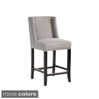 Sunpan Marlin Nailhead Trim Counterstool