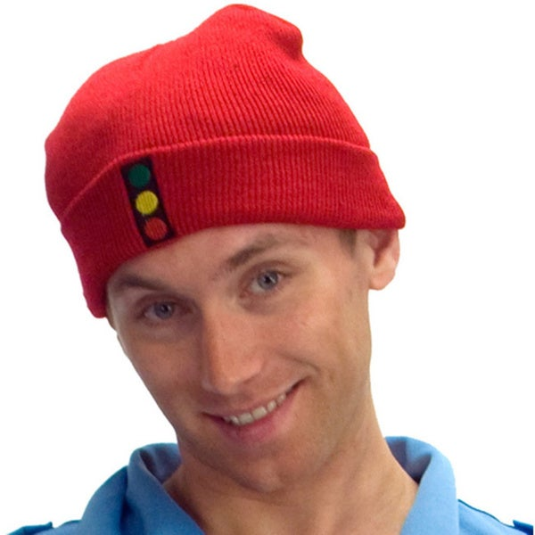 The Life Aquatic With Steve Zissou Red Stoplight Knit Beanie