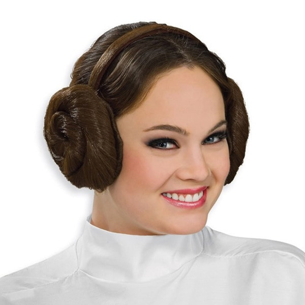 Princess Leia Headband Wig