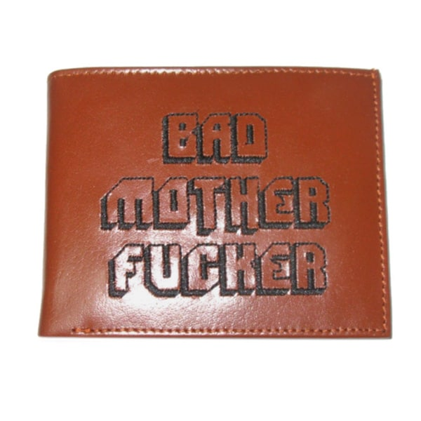 Bad Mother F*cker Leather Wallet