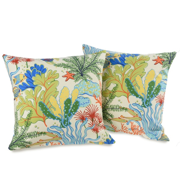 Island Breeze 20-inch Decorative Throw Pillows (set of 2) 14802776