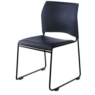 NPS 8700 Series Vinyl Padded/ Metal Frame Cafetorium Stack Chair