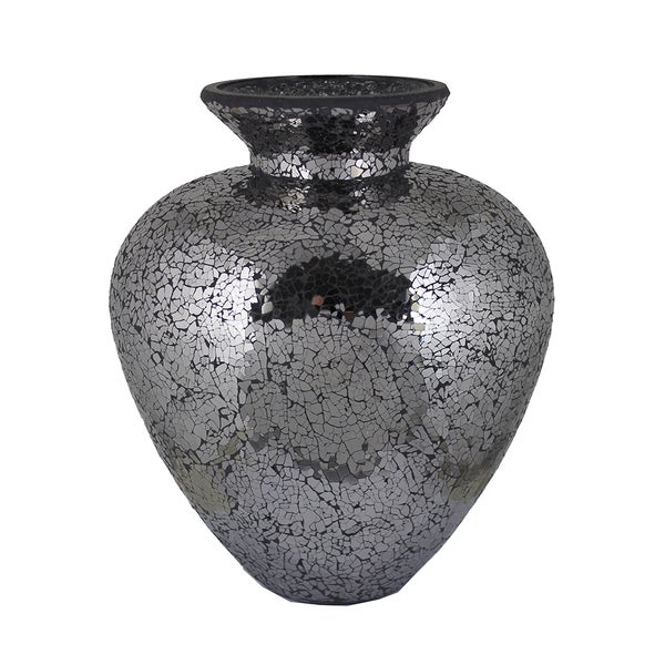Essential Grey Mosaic Vase