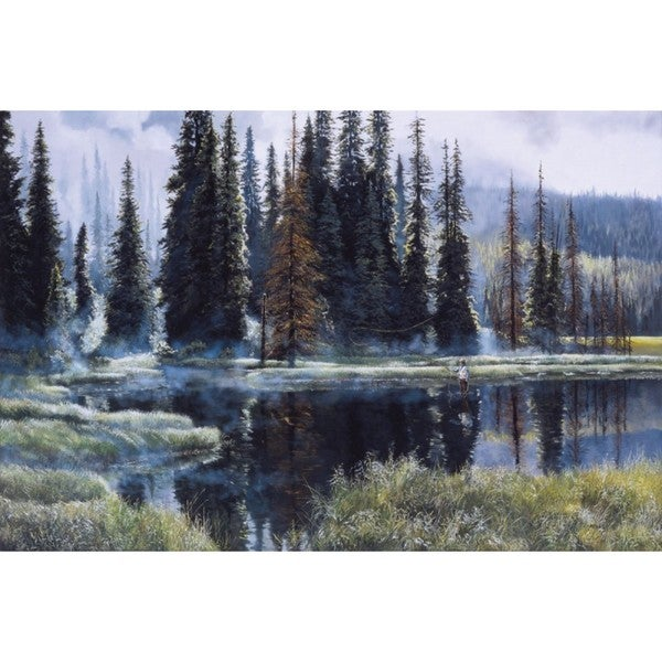 Andrew Kiss 'Heaven On Earth' Gallery Wrap Canvas