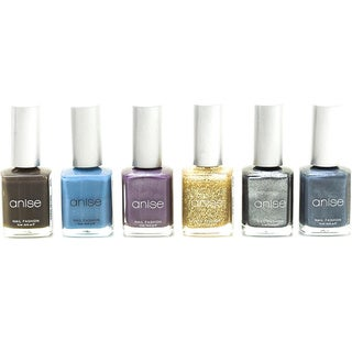 Anise Nail Polish Assortment (Pack of 6)