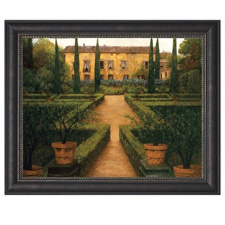 Montserrat Masdeu 'Garden Manor' Framed Artwork
