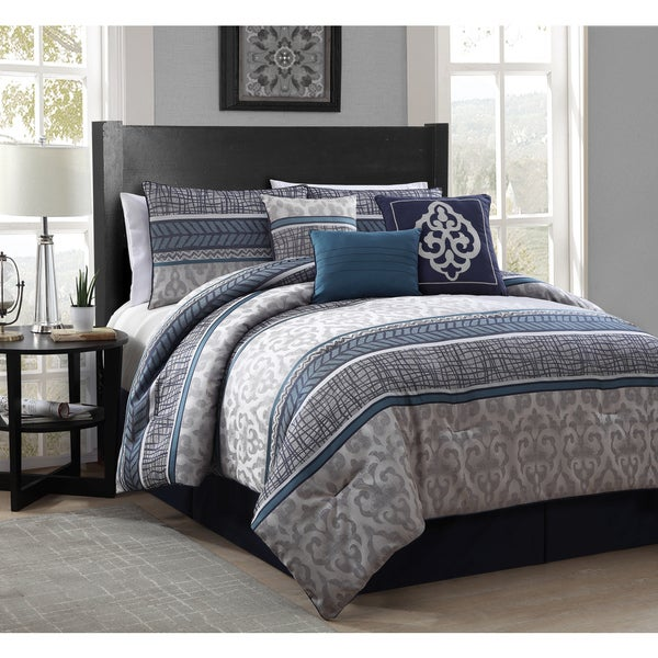 Simon 7-piece Polyester Comforter Set (As Is Item)