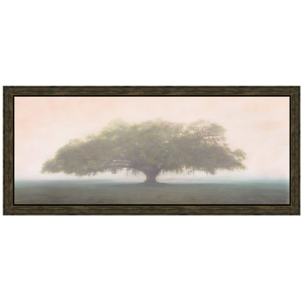 William Guion 'Oak In The Fog' Framed Artwork