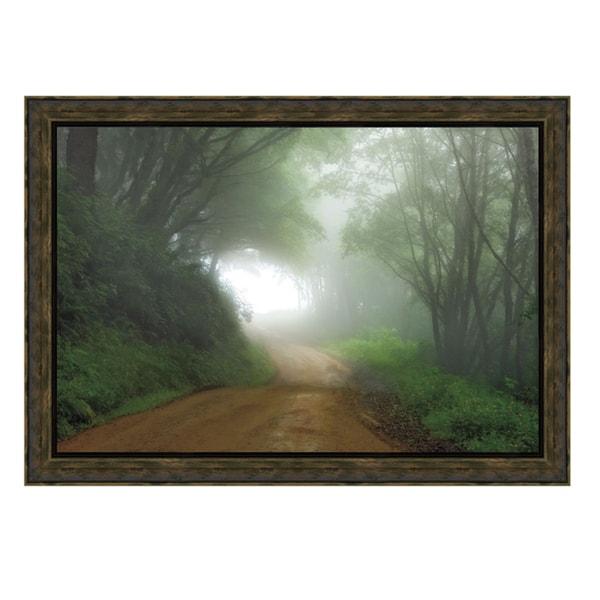Mike Jones 'Road To Nowhere' Framed Artwork