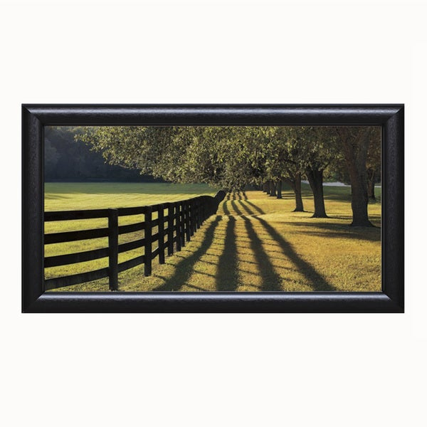 Mike Jones 'Chasing Shadows' Framed Artwork