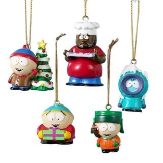 South Park 5-Pack Christmas Tree Ornaments