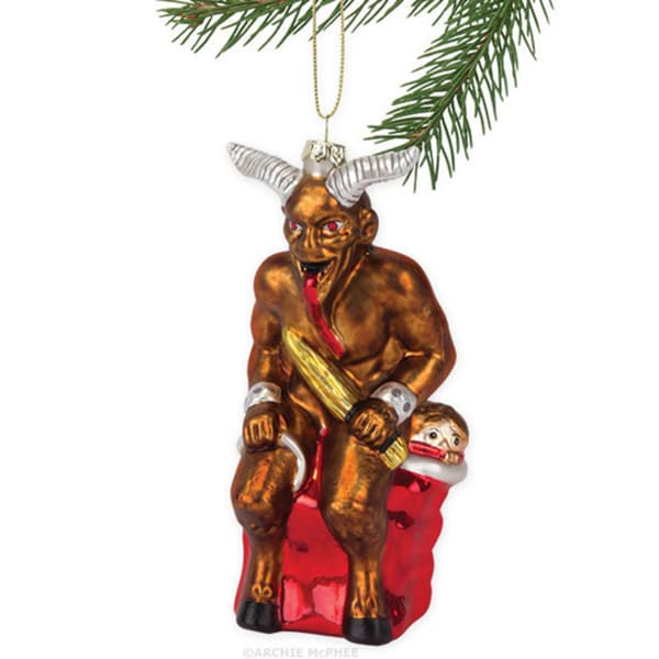 Krampus Christmas Tree Ornament