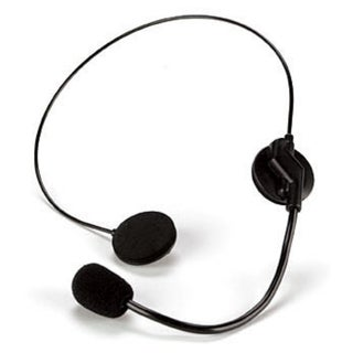 Singer Headset and Microphone Costume Accessory