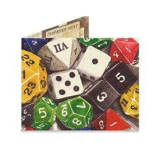 Dungeons and Dragons Tyvek The Mighty Wallet