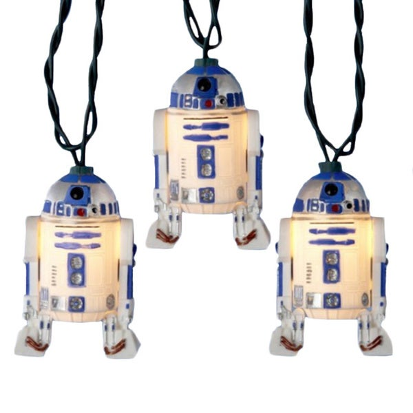 Star Wars R2D2 Christmas Lights