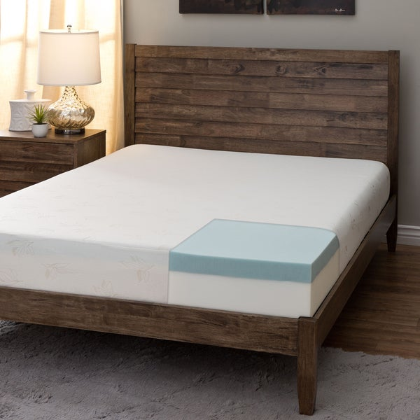 Comfort Dreams 8-inch King-size Gel Foam Mattress