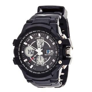 Everlast Sport Men's Analog Digital Black Rubber Watch