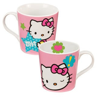 Hello Kitty Stars 12-ounce Ceramic Coffee Mug