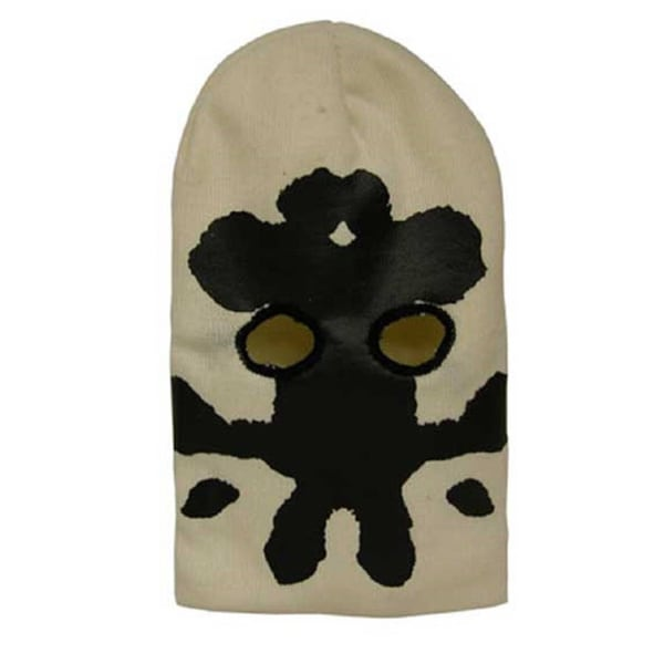 Watchmen Rorschach Face Comic Book Ski Mask