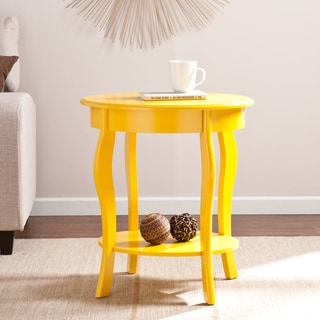 Harper Blvd Waverly Yellow Oval Accent Table