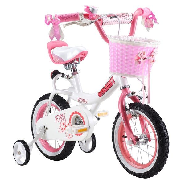 Royalbaby Jenny Pink 16-inch Kids Bicycle