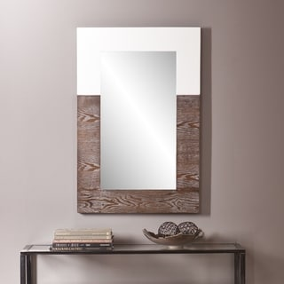 Holly and Martin Wagars Burnt Oak/ White Mirror