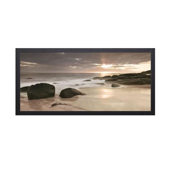 Assaf Frank 'Midnight Sunset' Framed Artwork