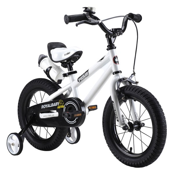 RoyalBaby BMX Freestyle 16-inch Kids Bike with Training Wheels