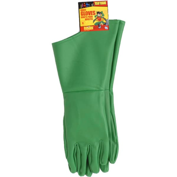 Robin Adult Gloves Batman Costume Accessory