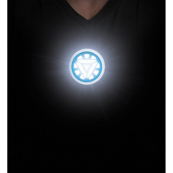 Iron Man Glow in the Dark Arc Reactor Stick-on Costume Accessory