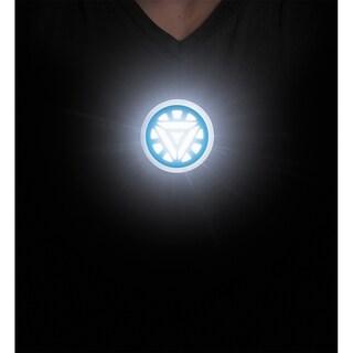 Iron Man Glow in the Dark Arc Reactor Stick-on Costume Accessory