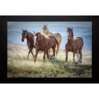 Wendy Caro- 'Morning Stroll' Framed Artwork