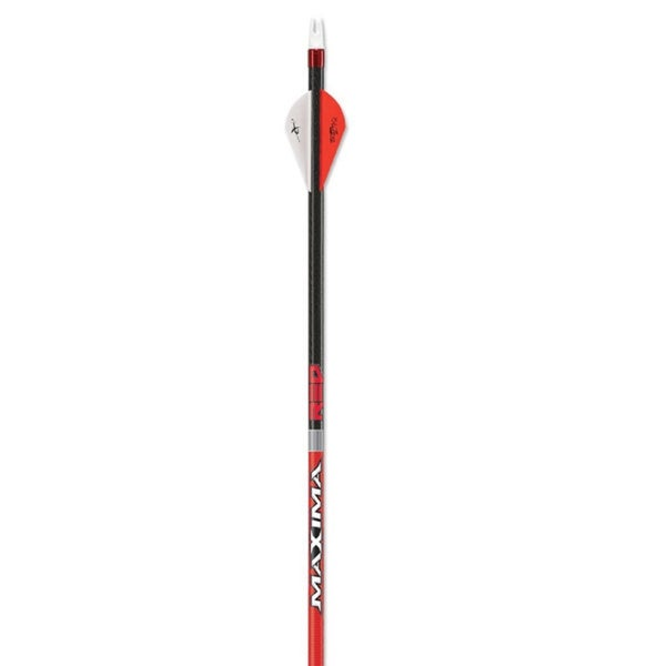 Carbon Express Maxima Red Arrow 2-inch Vane (Pack of 6)