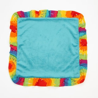 One Grace Place Terrific Tie-dye Binky Blanket