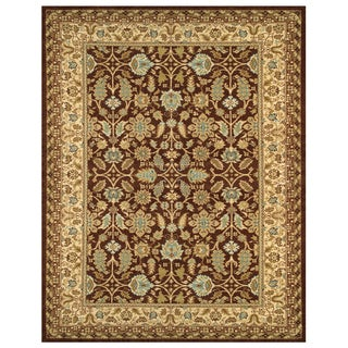 Wilshire Floral Chocolate/ Latte Rug (9'8 x 13')
