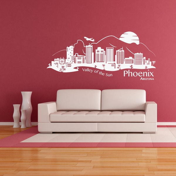 Phoenix Skyline Wall Decal
