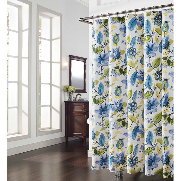 Alyssa Floral Shower Curtain