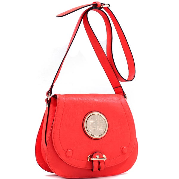 Dasein Crossbody Bag with Adjustable Buckle Strap