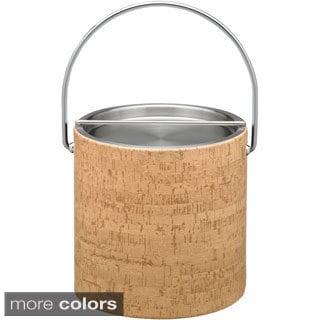 Cork 3-quart Ice Bucket with Metal Lid