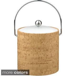 Cork 3-quart Ice Bucket with Lucite Lid