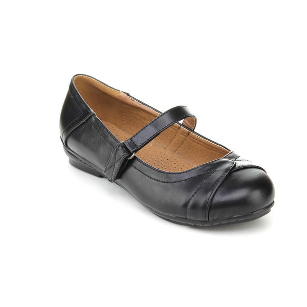 Cherish Women's 'Express-3' Black Mary Jane Flats