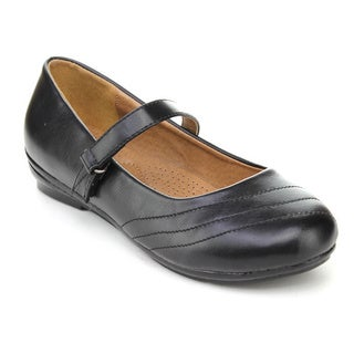 Cherish Women's 'Express-1' Black Mary Jane Flats
