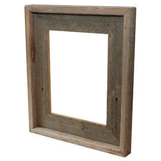 The Natural Pearl Grey Recycled/ Reclaimed Wood 8-inch x10-inch Picture Frame