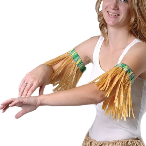 Hula Luau Armbands Party Costume Accessory (Pair)
