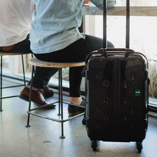 Lojel Carapace Frame 21.75-inch Small Carry-On Upright Hardside Spinner Suitcase