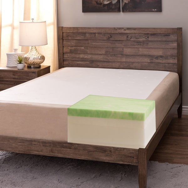 Comfort Dreams Select-a-Firmness 11-inch Queen-size Gel Memory Foam Mattress
