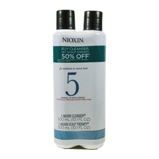 Nioxin System 5 10.1-ounce Cleanser/ Scalp Therapy Duo