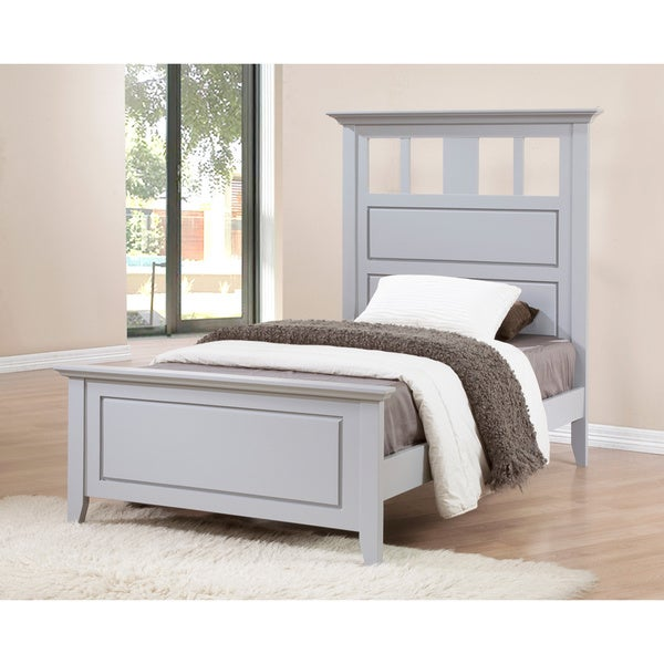 Cityscape Grey Twin Bed